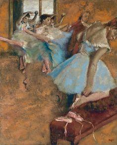 55 Super Ideas For Dancing Class Edgar Degas Edgar Degas, Degas Ballerina, Ballerina Painting, Ballerine Degas, Drawing Artist, Dance Art, French Art, Famous Artists, Painting Inspiration