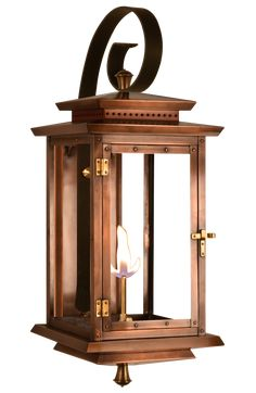 BM-TR Lantern Biltmore Traveler Gas or Electric Copper LanternBiltmore by The Coppersmith Porch Lighting, Exterior Lighting, Sconce Lighting, Home Lighting, Porch Lanterns, Gas Lanterns, Lantern Light Fixture, Light Fixtures, Copper Lantern