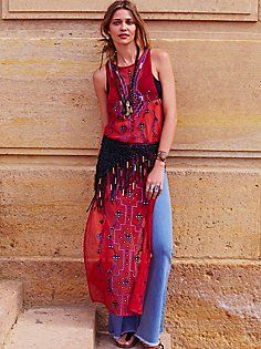 Making Waves Maxi Top