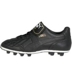 195c1ce00523 SALE - Mens Puma Classic Soccer Cleats Black Leather - Was $119.99 - SAVE  $20.00. BUY Now - ONLY $99.99