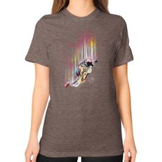 Fallin Unisex T-Shirt (on woman)