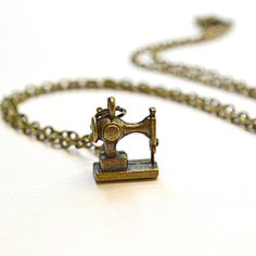 Fab.com | Sewing Machine Necklace