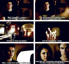 """S5 Ep6 """"Handle with Care"""" - Silas. I really do love him. Felt bad he got sucked into oblivion"""