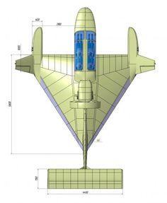 Flying Ship, Flying Car, Lun Class Ekranoplan, Jet Motor, Hover Bike, Ground Effects, Airplane Design, Experimental Aircraft, Hammacher Schlemmer