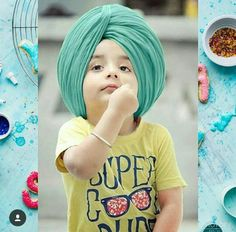 Cutezsardar Cute Baby Boy, Cute Boys, Cute Babies, Baby Pictures, Baby Photos, Cute Baby Wallpaper, Selfie Quotes, Indian Baby, Baby Turban