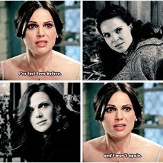 It breaks my heart how Regina's face is the same after losing Daniel, and after losing Robin