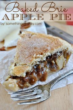 Baked Brie Apple Pie