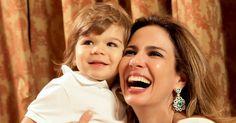 """""""Não gosto de ficar grávida. Acho um horror. Mas acho incrível ser mãe"""", Luciana Gimenez, mãe de Lucas, 13 anos, e Lorenzo Gabriel, 2, para a revista """"Contigo!"""", em abril de 2013"""