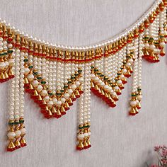 Super decor home handmade gift ideas Ideas Housewarming Decorations, Diy Diwali Decorations, Festival Decorations, Diwali Craft, Diwali Diy, Bead Jewellery, Beaded Jewelry, Door Hanging Decorations, Hanging Door Beads