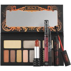 Kat Von D Monarch Eye & Lip Set ($75) ❤ liked on Polyvore featuring beauty products, makeup, eye makeup, beauty, 33. makeup sets., long wear makeup, kat von d makeup, kat von d cosmetics, kat von d and palette makeup