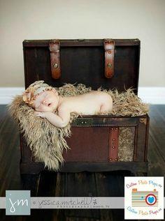 Dreadlock Fur Baby Toddler Photo Prop Fabric Nest