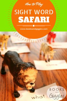 How to Play Sight Word Safari