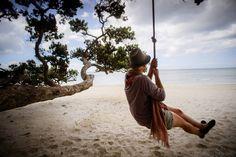 Waiheke Island on the beach - New Zeeland Credits - Ruth Borgjford