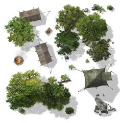 Foto: Dungeon Tiles, Dungeon Maps, Fantasy Map, Fantasy Places, Tree Plan Photoshop, Game Design, Tree Plan Png, Trees Top View, Rpg Map