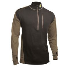 f481415bac7e3 Best Mid layer ever? ScentBlocker Apex Mid-weight Wool Base layer Shirt,  Black · Hunting ClothesHunting ...