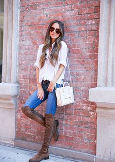 How to Wear Over-the-Knee Boots With Everything This Year | StyleCaster