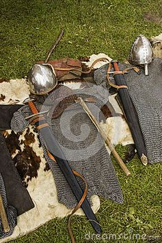 Viking armor by Sebastiang, via Dreamstime