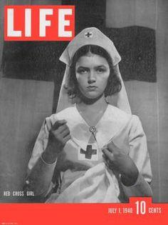 Красный Крест Жизнь Обложка журнала 1 июля 1940