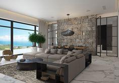 "Popatrz na ten projekt w @Behance: ""Sea  (livingroom)"" https://www.behance.net/gallery/44679129/Sea-(livingroom)"