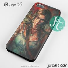 Tomb Rider Lara croft Art Phone case for iPhone 4/4s/5/5c/5s/6/6 plus