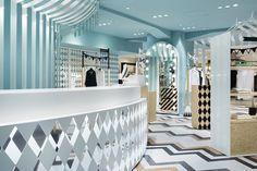 Seibu women's fashion floor by Nendo, Tokyo – Japan » Retail Design Blog