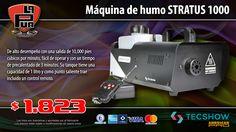 La Púa San Miguel: Máquina de Humo Profesional TECSHOW by AMERICAN PR...