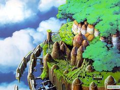 Аниме обои Laputa: The Castle in the Sky / Небесный замок Лапута 11658