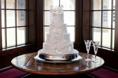 Jessica & Michael • Houston, TX • December 2012 •  Wedding Cake • Wedding Photography