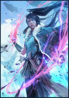 Ross Tran is a concept artist and illustrator. The legend of Korra