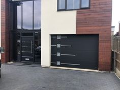 Doors with a personal touch Matching design entrance & garage doors from one manufacturer Entrance Doors, Garage Doors, Home Photo, Front Yard Landscaping, House Front, Filing Cabinet, Curb Appeal, Facade, Outdoor Decor