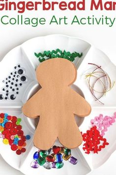 Fun Christmas, Christmas Collage, Christmas Crafts For Kids To Make, Minimal Christmas, Outdoor Christmas, Christmas Pictures, Homemade Christmas, Gingerbread Man Crafts, Gingerbread Man Activities