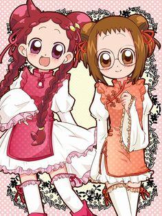 Tags: Fanart, Ojamajo DoReMi, Harukaze Doremi, Fujiwara Hazuki, Pixiv Id 797335 Chibi Anime, Kawaii Anime, Manga Anime, Anime Art, Ojamajo Doremi, Anime Love, Hokusai, Fanart, Anime Princess
