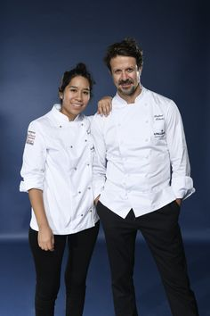 Elizabeth Puquio Landeo and her Mentor Rafael Osterling representing Latin America. Photo credit: Gianni Rizzotti.