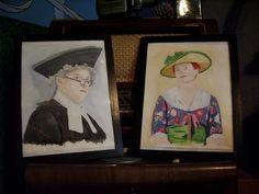 comissioned couples watercolour portrait