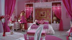 Sharpay's Fabulous Adventure - Pink and White Room- I might be 20 years old but I still want this bedroom.