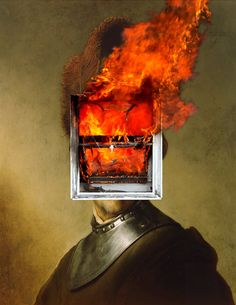 Thomas Robson. The Anger Within Portraits. Inner Fire 2.