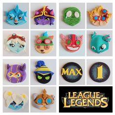 league of legends cupcakes. the yordles.