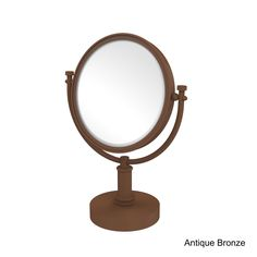 Allied 8-inch 5x Magnification Vanity Top Make-up Mirror
