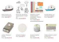 Stampin' Up Weekly Deals November 4 through November 10, 2014 : KreatesKards