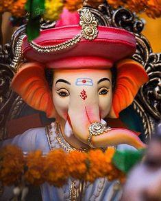 Ganesh photo with jewellery seated on throne Ganesh Pic, Ganesh Lord, Ganesh Idol, Ganesh Statue, Ganesha Art, Jai Ganesh, Baby Ganesha, Ganesha Tattoo, Baby Krishna