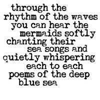 "Art Stencil Template - Poems of the Deep Blue Sea - 6"" x 6"" Stencil"