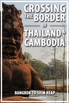 Crossing the Border of Thailand and Cambodia – Pin This!