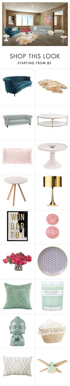 """""""Wonderful Living Room"""" by cherieaustin on Polyvore featuring interior, interiors, interior design, home, home decor, interior decorating, UGG, Kim Salmela, Global Views and Pine Cone Hill"""
