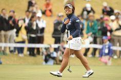 Tポイントレディス 2日目 鈴木愛<Photo:Atsushi Tomura/Getty Images>