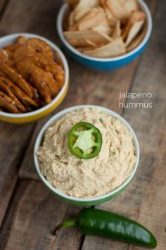 Recipe: Jalapeno Hummus • this heart of mine