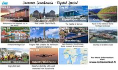 Summer #Scandinavia Special #Intiamatkat - Take a glance! We are the experts in Scandinavia Itineraries. Experience the magnificent destinations with the unbeatable prices! Hurry up and get ready for this special tourhttps://www.intiamatkat.fi/product-page/summer-scandinavia-special?utm_content=buffercf026&utm_medium=social&utm_source=pinterest.com&utm_campaign=buffer