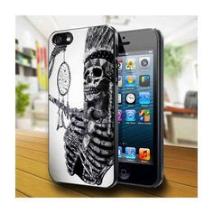indian skull dreamcaher, iPhone 4 Case, iPhone 4s