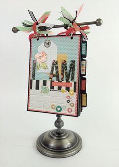 Simple Stories I AM mini album - Scrapbook.com