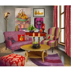For Maximalist contest http://www.polyvore.com/maximalist_style_interiors/contest.show?id=386088