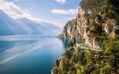 Garda Lake - Italy sentiero della Ponale